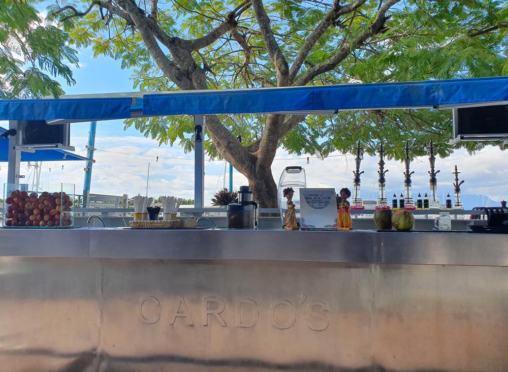 Cardo's Shisha Bar, Denarau Marina, Nadi